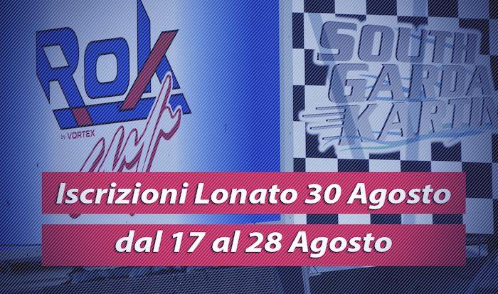 Notizie Utili Per La Rok Cup Italia A Lonato