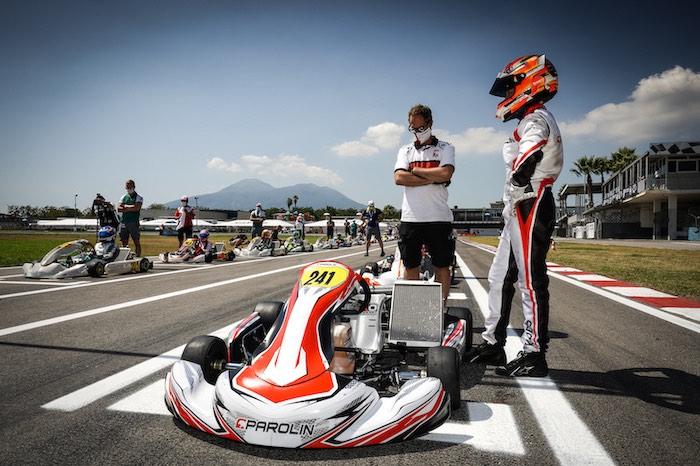 Parolin Racing Kart – Another step forward at Sarno