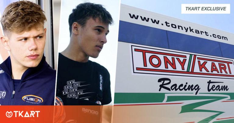 Mercado de fichajes de pilotos: Denner y Bradshaw cambian a Tony Kart