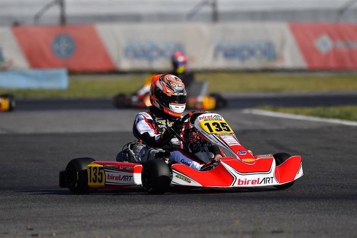 Ecco i primi protagonisti a Sarno nelle prove del secondo round del Campionato Italiano ACI Karting