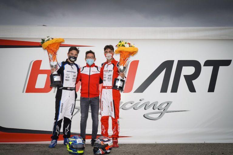 Birel ART – Una doppietta e ancora un podio nel Campionato mondiale di Lonato
