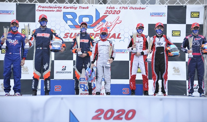 Pole and first results of the 2020 Rok Cup Superfinal