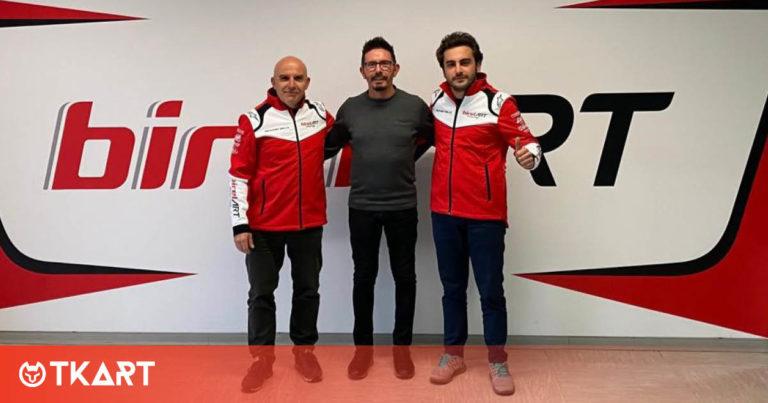 Birel ART e Alessio Piccini insieme per il 2021