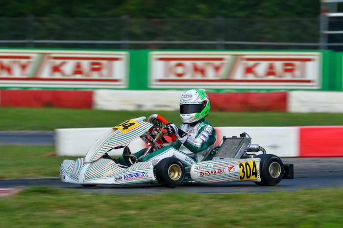 Tony Kart back on the track for the Open Cup