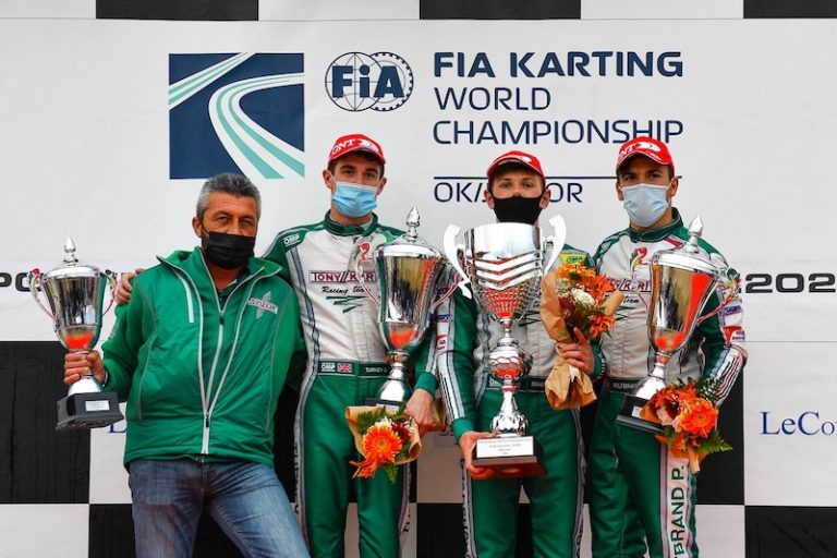 Tony Kart Signs A Historic 1st, 2nd And 3rd Place At The Ok World Championship