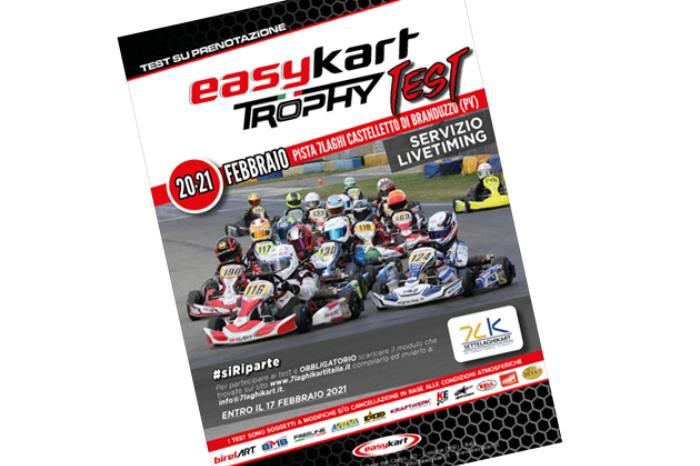 Il paddock Easykart torna in pista con il primo due-giorni di allenamento della stagione 2021