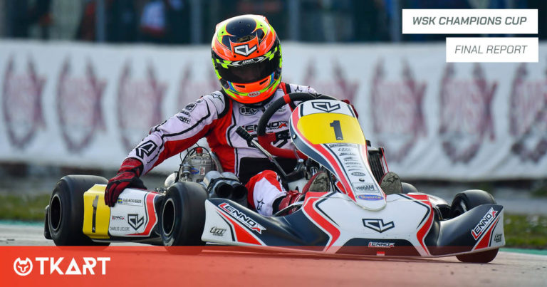 WSK Champions Cup, Adria: KZ2 Final – Gustaffson is perfect