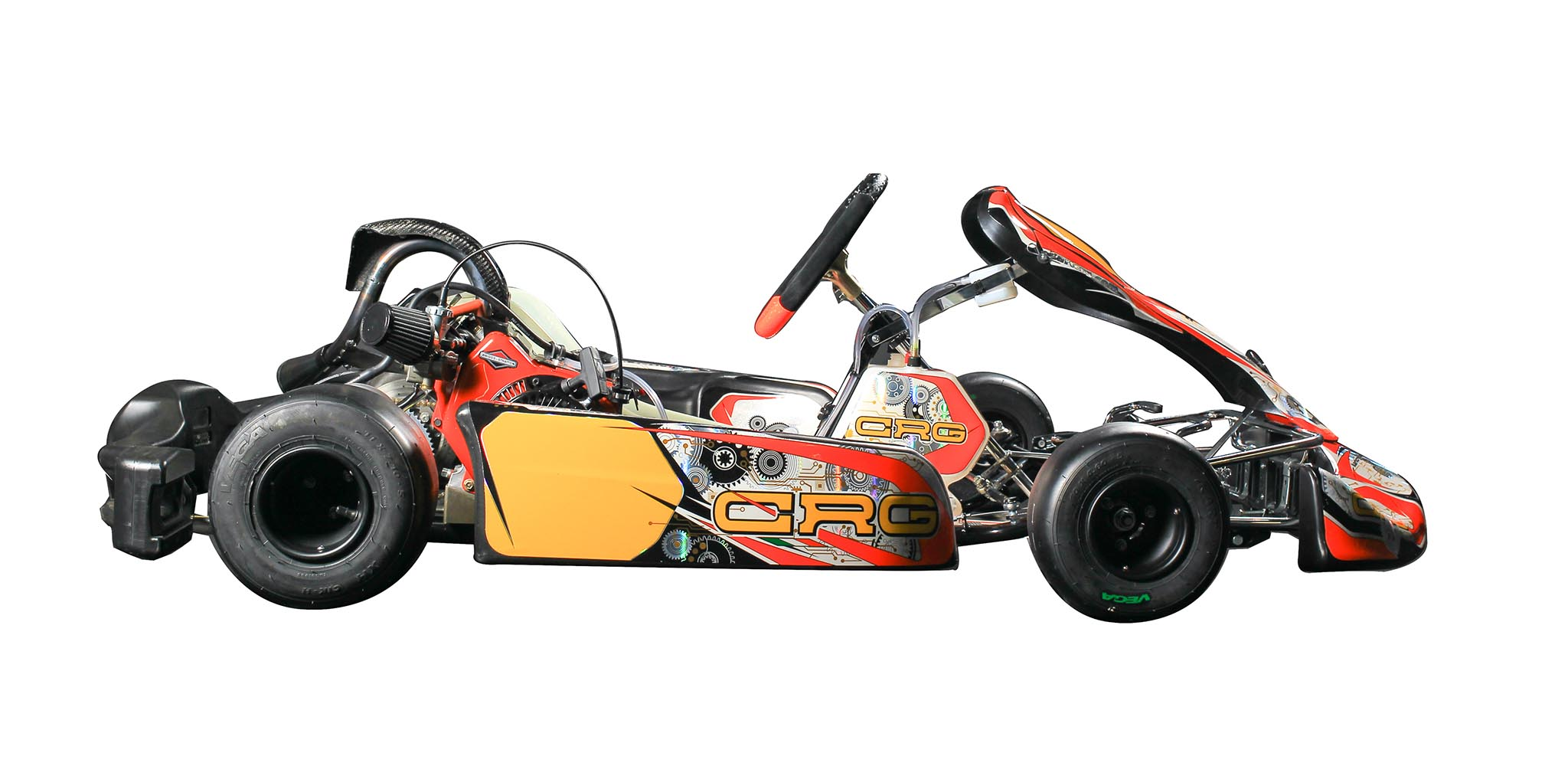 CRG chassis and Briggs & Stratton 4T egine: the kart that