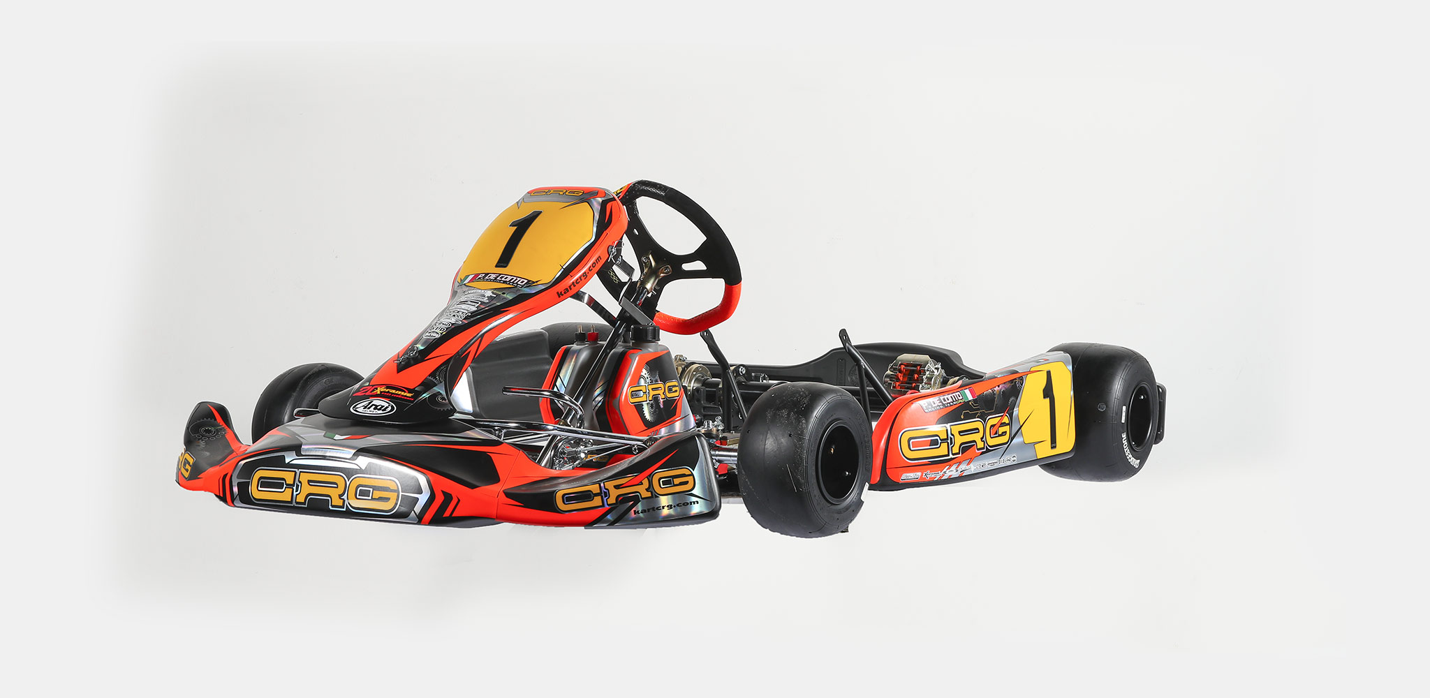 The CRG Heron's return to the market, a kart with an unconventional